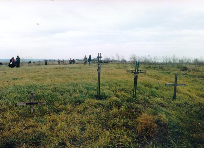 Kommemoration, Rudolfsgnad-Teletschka, 7. November 1997