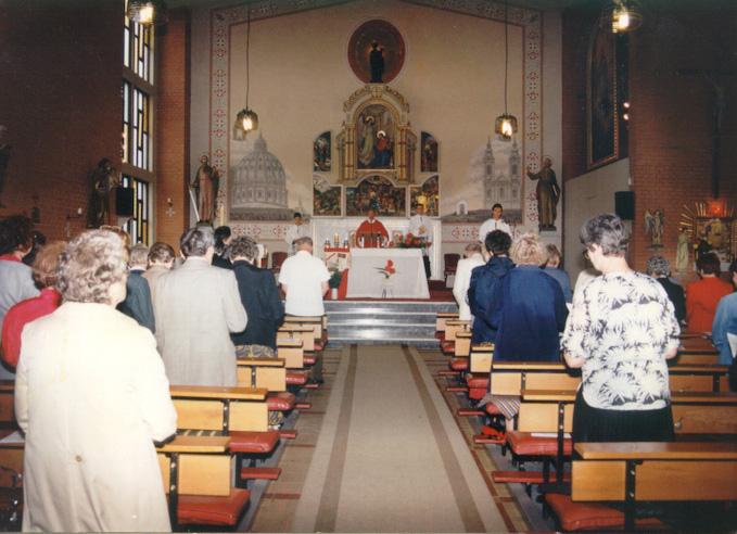 Deutsche Messe, Subotica, Pfingsten 1998.